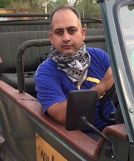 Abbas A Zaidi - Owner and Founder of Ranthambore jeep Safari